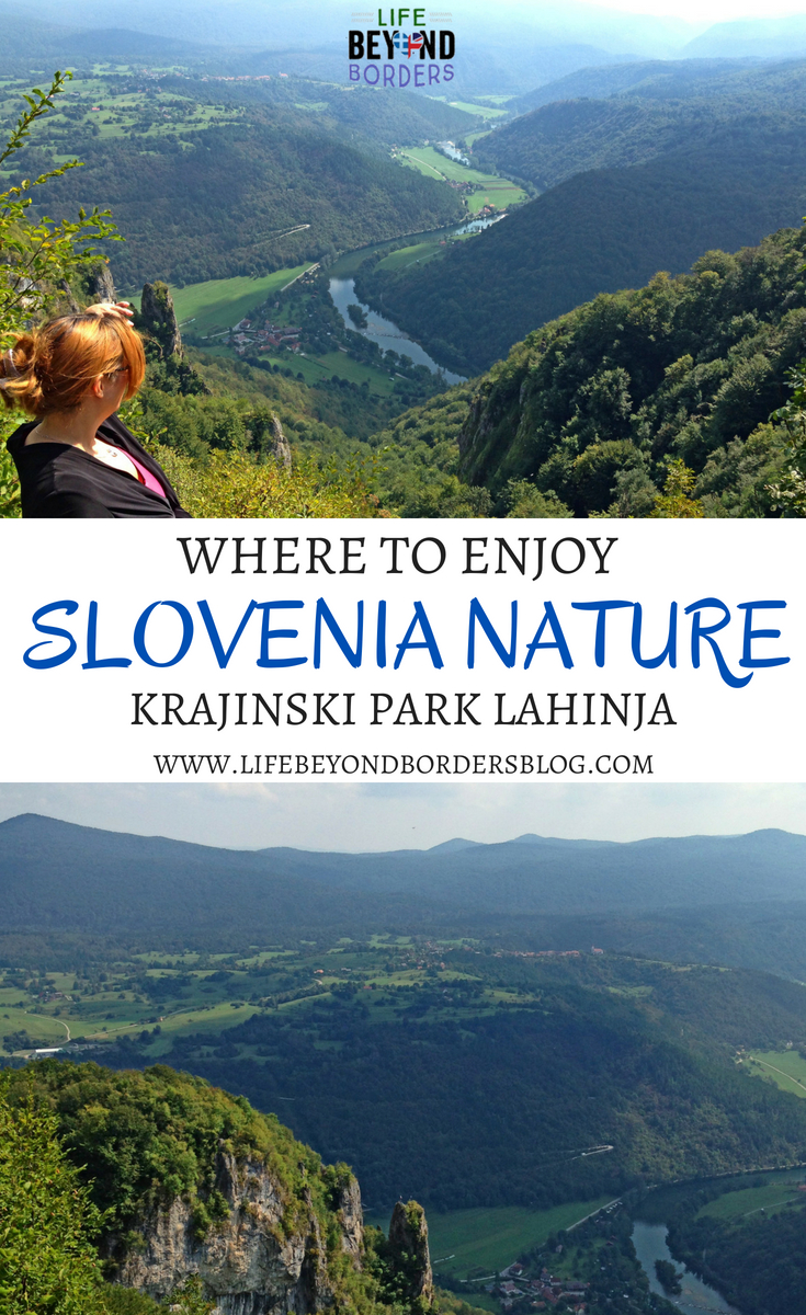Where to enjoy Slovenia Nature - KrajinskIi Park Lahinja. Slovenia in Europe - 60% forest