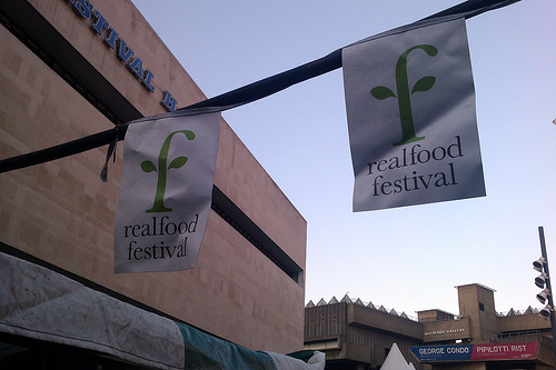 real food festival london photo