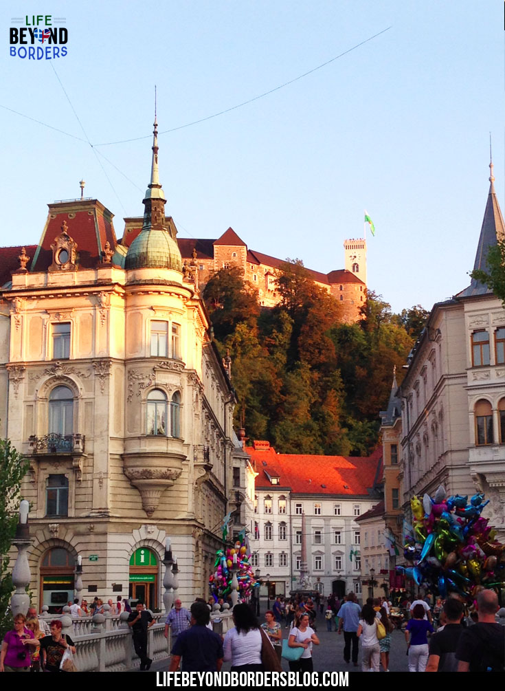 Ljubljana Town and Castle - A Day Trip to Lake Bled and Ljubljana - LifeBeyondBorders