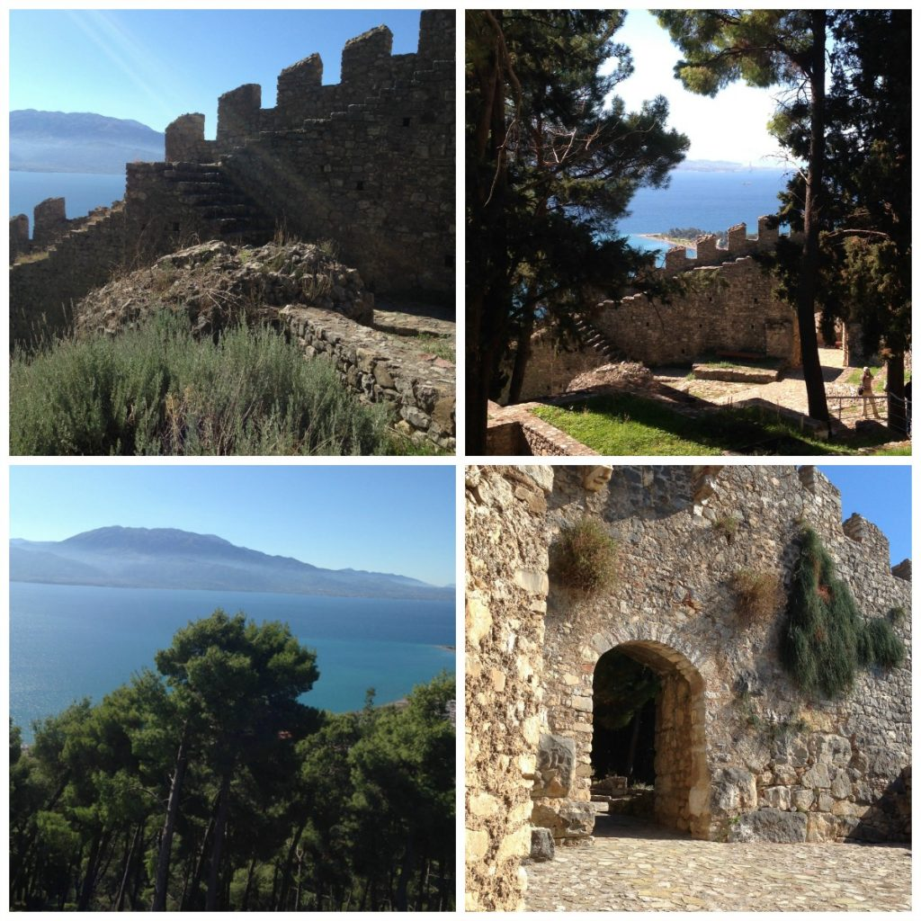Nafpaktos Castle, Greece. Life Beyond Borders