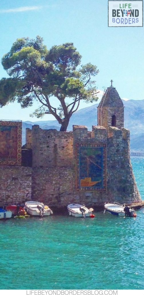 Beautiful Nafpaktos Harbour - Greece. Life Beyond Borders