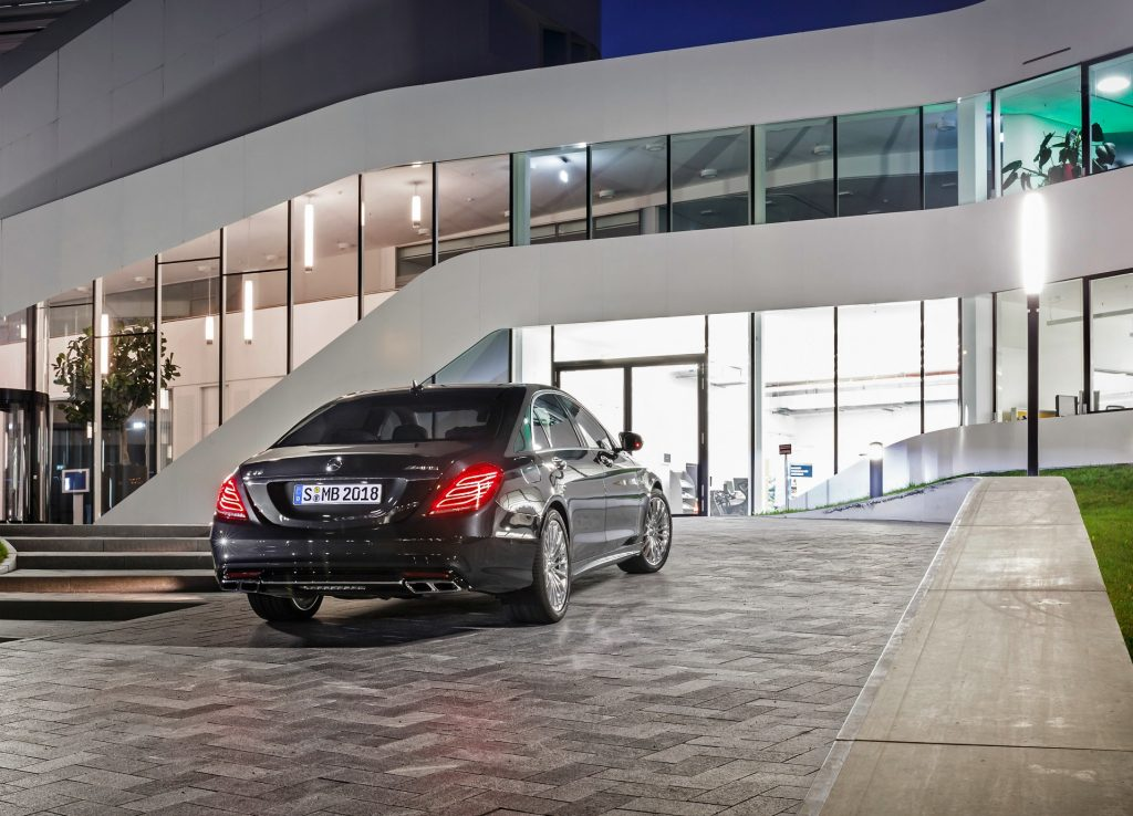 Mercedes-Benz S 65 AMG One of the many Blacklane cars on offer