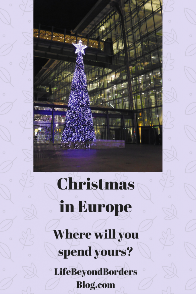 Christmas in Europe - where will you spend yours?