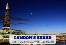 Visiting London's Shard at Night - LifeBeyondBorders
