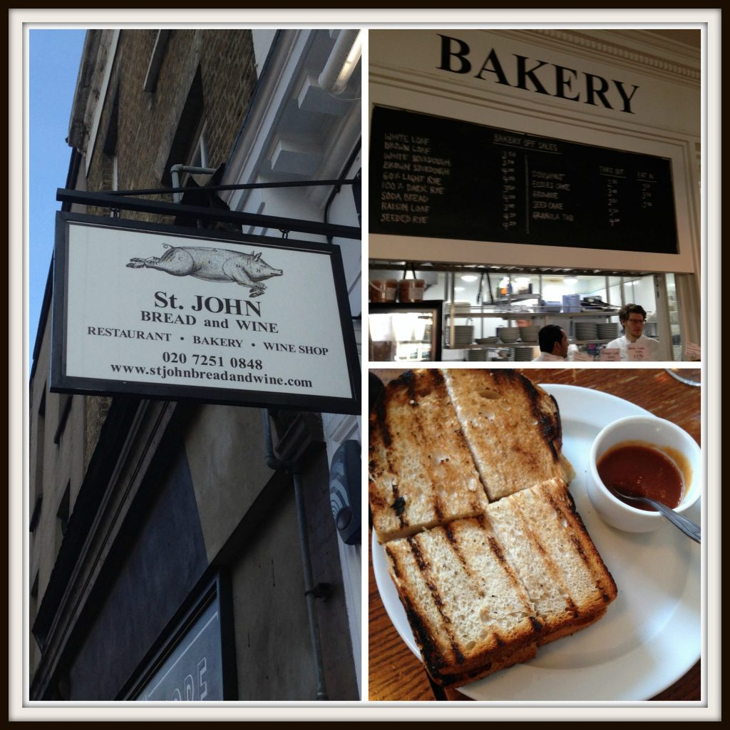 St John's Bread & Wine - Eating London Food Tour. Great for a bacon sarnie. LifeBeyondBorders