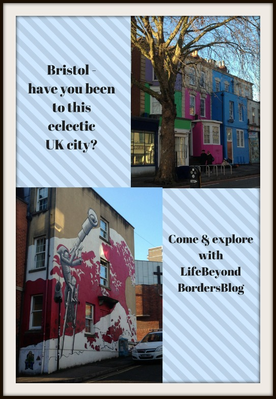 Things to see in Bristol - colourful houses - you must visit this UK city