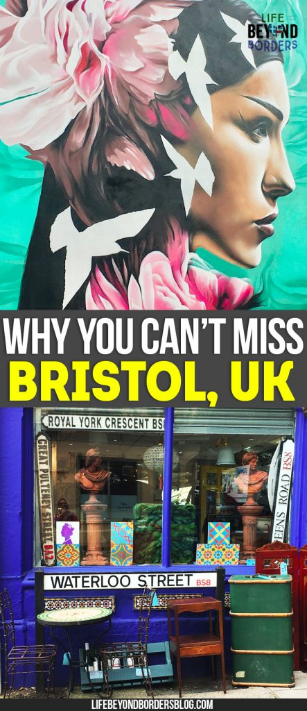 Things to see in Bristol - why you shouldn't miss the chance to visit this city in the South West of England