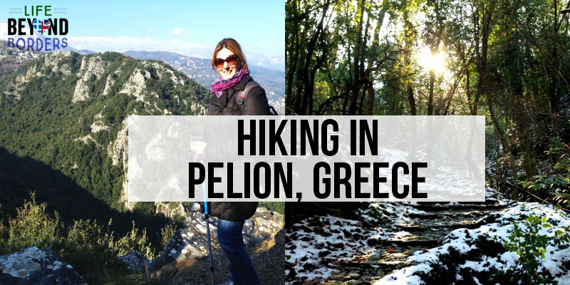 Hiking in the Pelion region of mainland Greece. A great all year destination