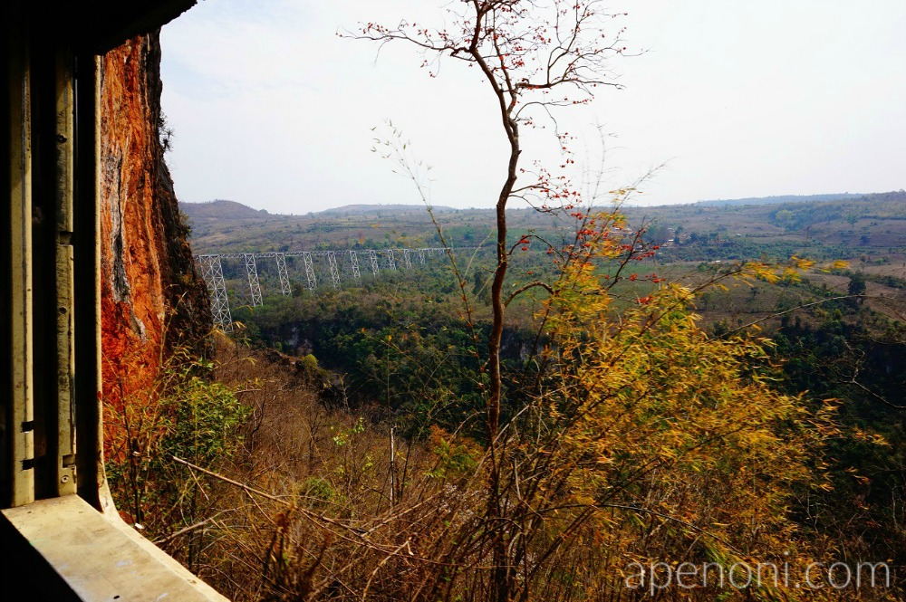 Gokteik Viaduct, Myanmar's longest bridge