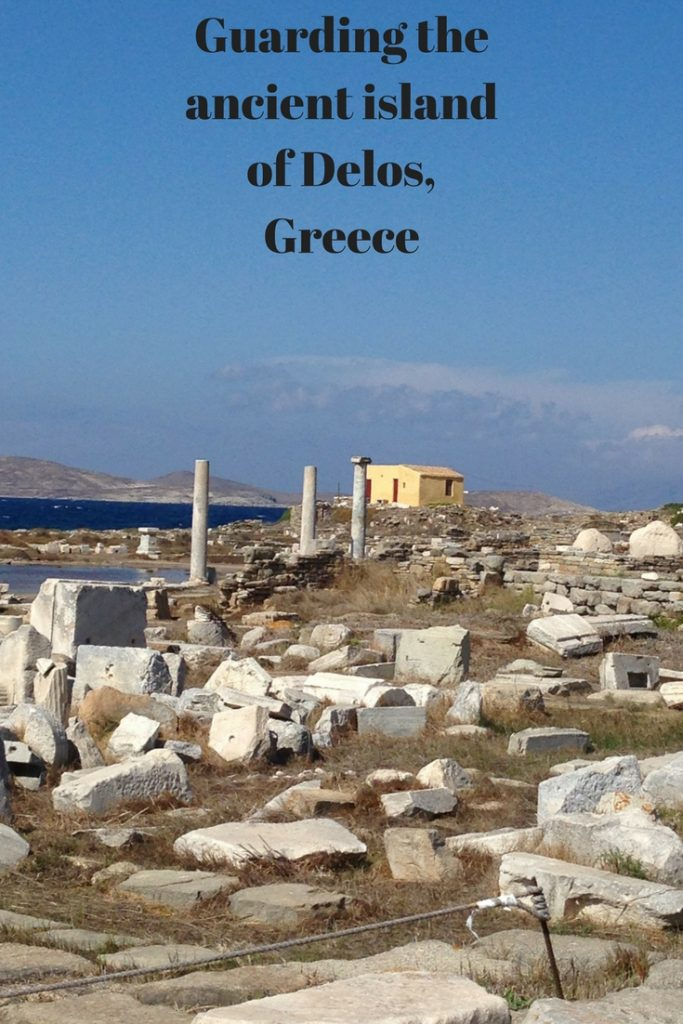 What's it like, guarding Delos island, the island of the Greek Gods? Read on to discover