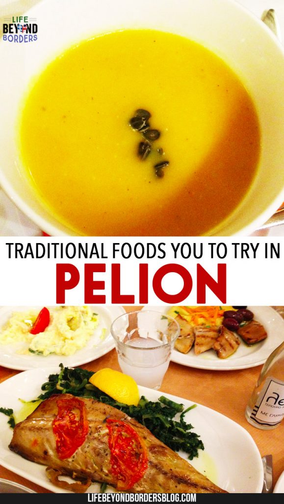 Pelion, Greece and the traditional foods of the region