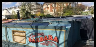 Staying on a Boutique Barge in London