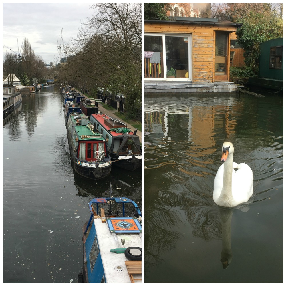 Canal life in Little Venice. London on Boutique Barges. Life Beyond Borders