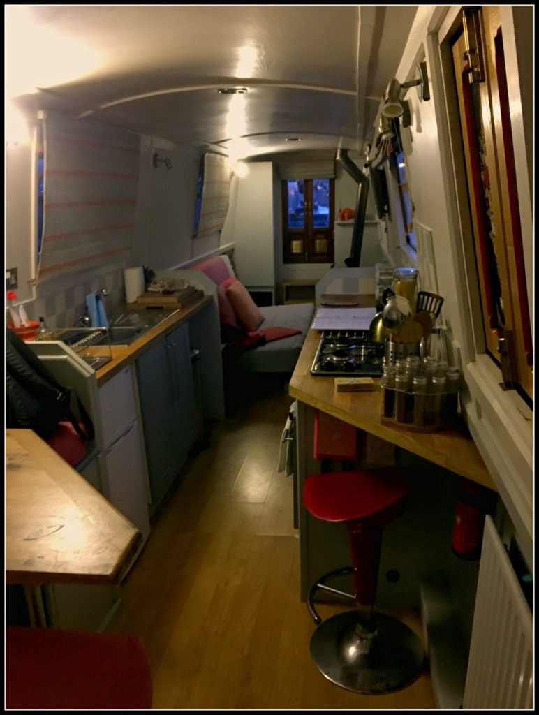 Interior of Barbara - Boutique Barges. Life Beyond Borders