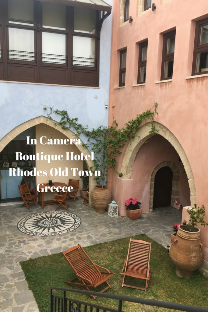 The In Camera Boutique Hotel in medieval Rhodes Old Town, Greece is another experience altogether. Like something out of Game of Thrones.