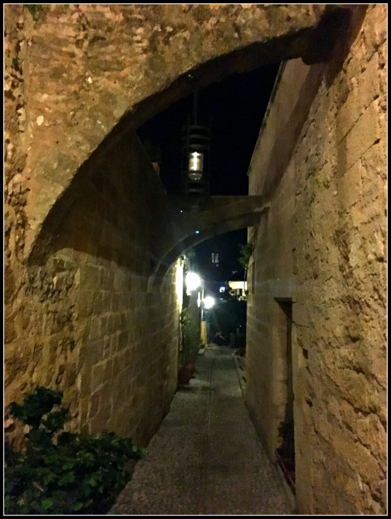 Old Town Streets of Rhodes