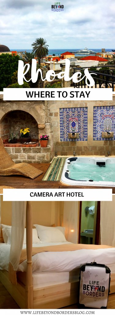Where to stay in Rhodes Greece - In Camera Art Boutique Hotel - LifeBeyondBorders