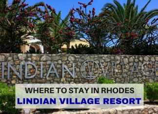 Where to Stay on Rhodes island Greece Lindian Village Resort - LifeBeyondBorders