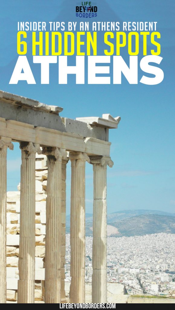 Come and Explore the Hidden Spots of Athens. Discover places beyond the tourist traps