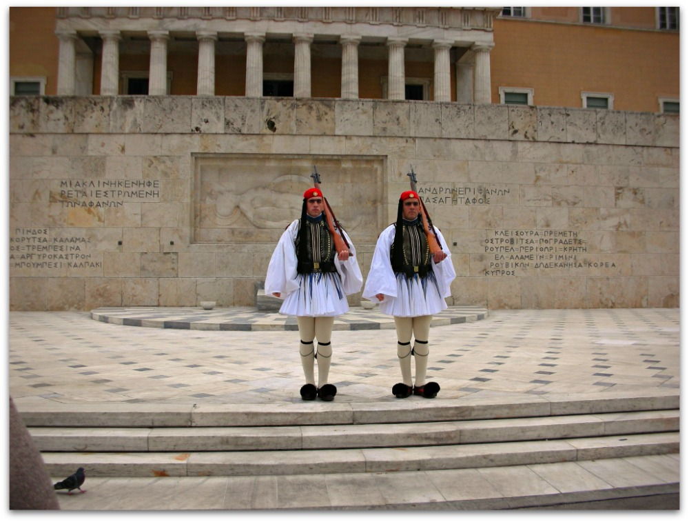 Evzones of the Greek Parliament Guard - Athens - Greece