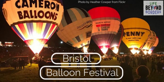 The Bristol International Balloon Festival is an event held every August in Bristol in the West Country of the UK. It's a spectacle and a wonderful sight, both during the day and night.