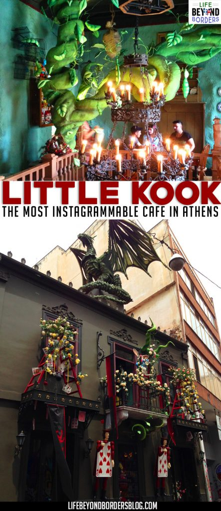 Little KooK is a Themed cafe in Athens, Greece. It's quite possibly the most Instagrammable cafe in the city!
