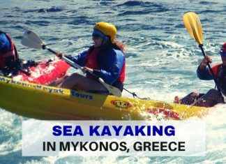 Sea Kayaking in Mykonos Greece - Life Beyond Borders