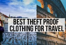 Recommended Theft Proof Items for Travel