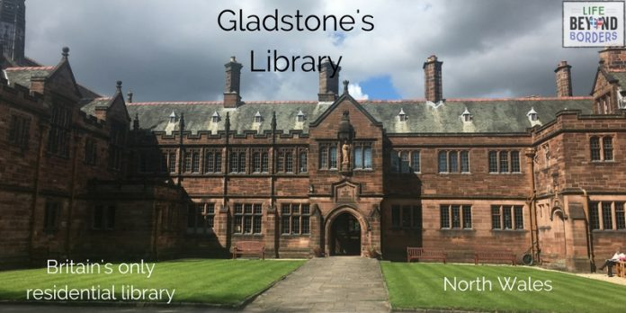 Gladstone's Library - North Wales - UK. Britain's only residential library. Come and read more.
