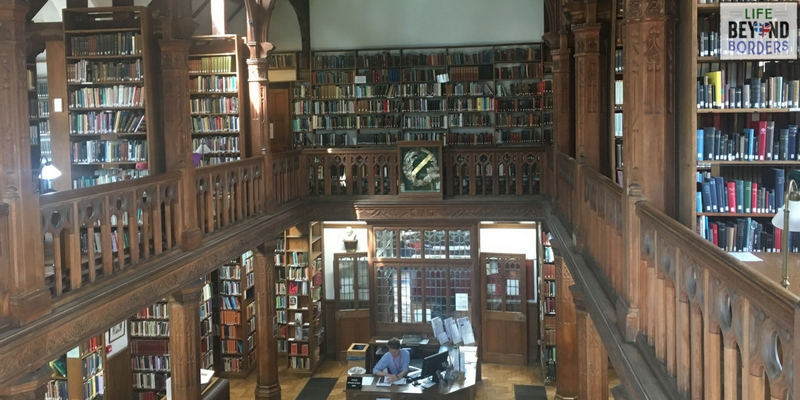 The Theology Room in Gladstone's Library - North Wales