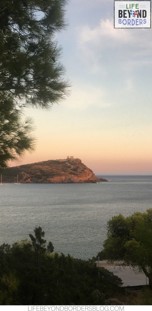Gorgeous Cape Sounio and Temple of Poseidon, Greece from Grecotel Exclusive Resort
