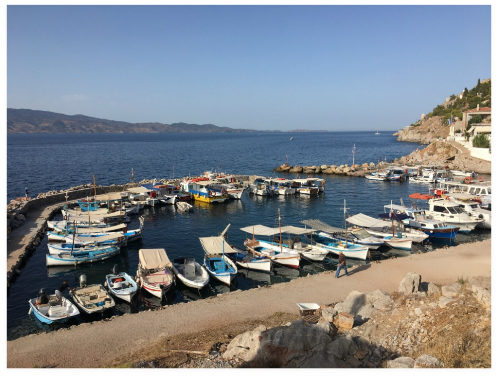 Kamini Harbour - Hydra Island - Greece. Life Beyond Borders