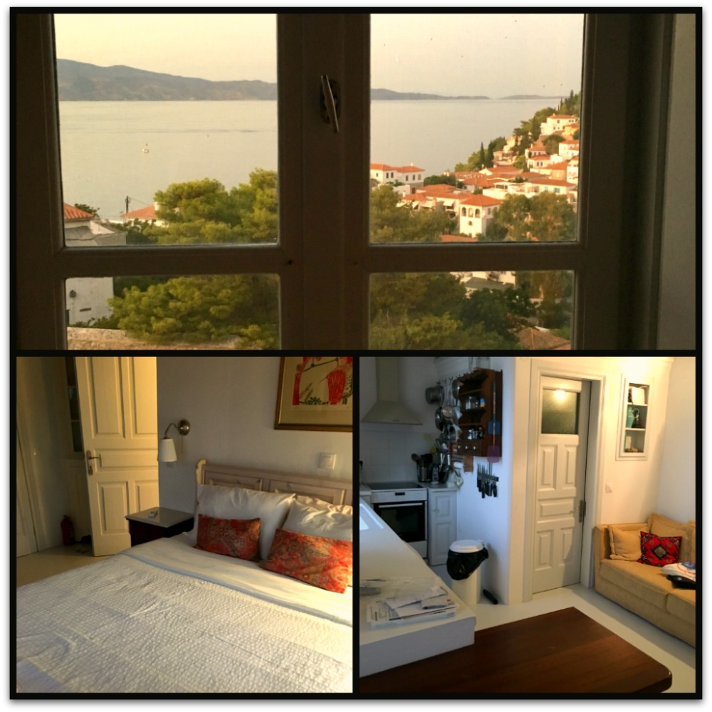 Accommodation in Nicaela's House - Hydra island Greece. What a view! Life Beyond Borders