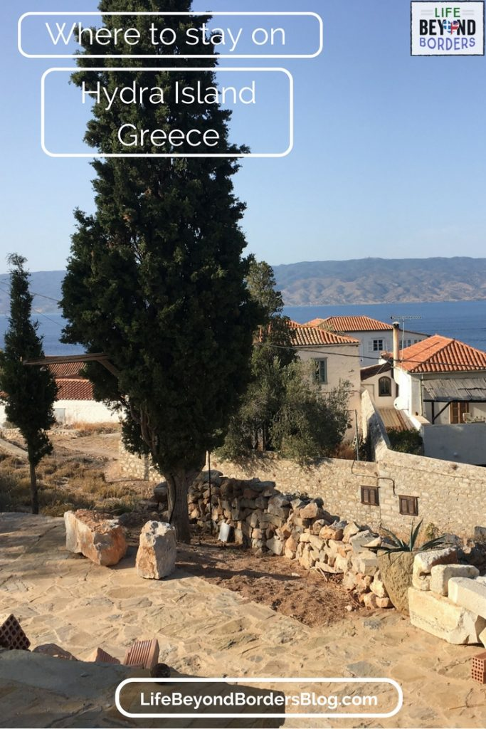 Where to stay in Hydra island, Greece. Your accommodation options