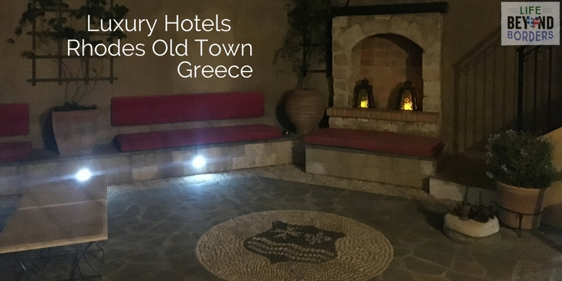Luxury Hotels - Rhodes Old Town - Greece