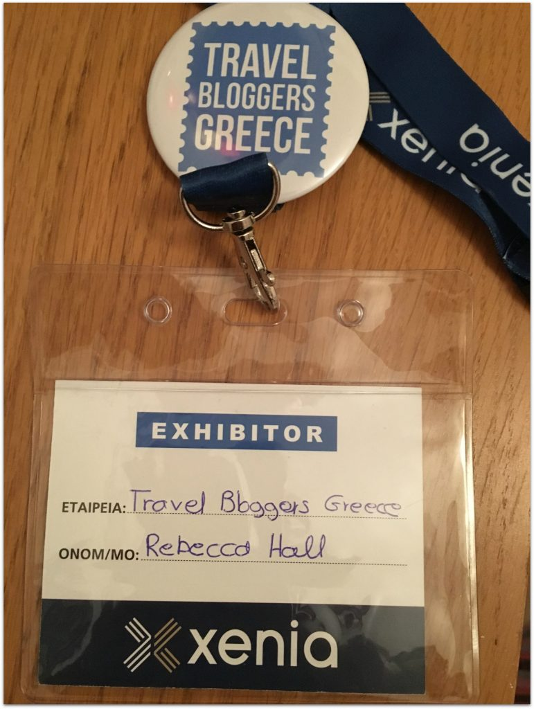Travel Bloggers Greece at Xenia Expo - Athens