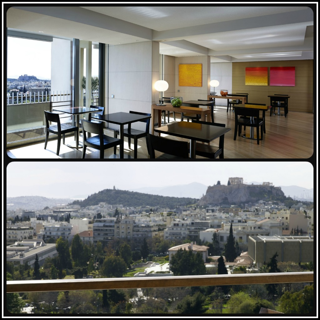 Hilton Athens Executive Lounge on the 11th Floor Photos © Hilton Athens. Life Beyond Borders