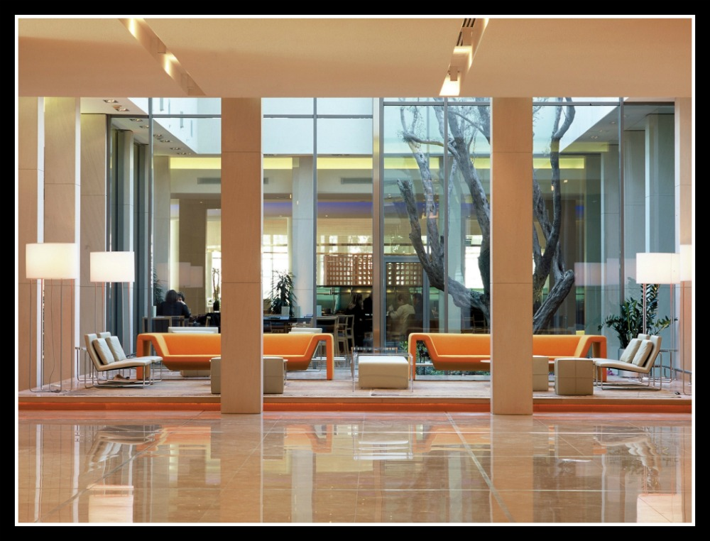 Hilton Athens Lobby Photo © Hilton Hotels. Life Beyond Borders