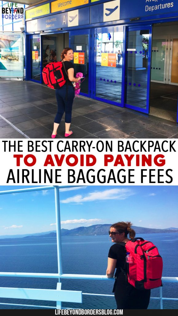 Hynes Eagle - The Best Carry-On Backpack to Avoid Paying Airline Baggage Fees