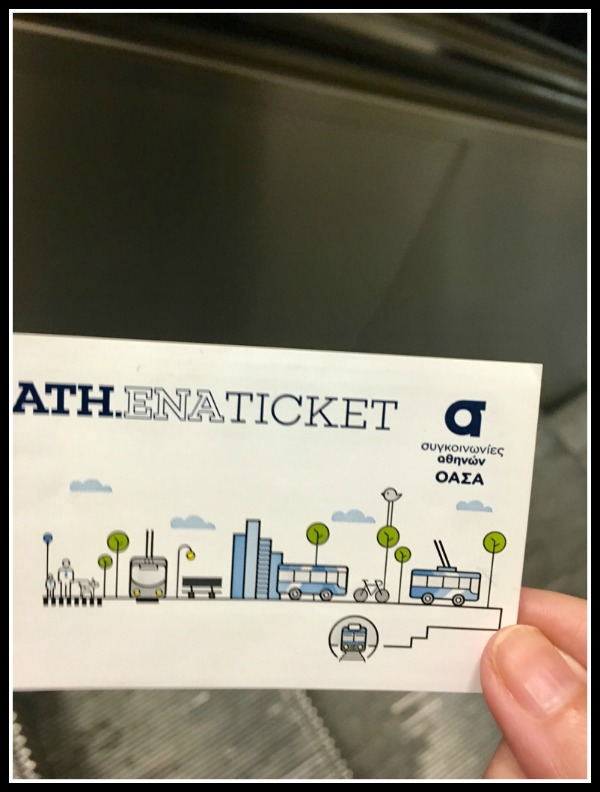 Etiquette in Greece - Athens Metro Ticket - Greece -  LifeBeyondBorders