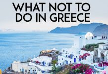 Do's and Don't when travelling in Greece, from an Athens Resident - LifeBeyondBorders
