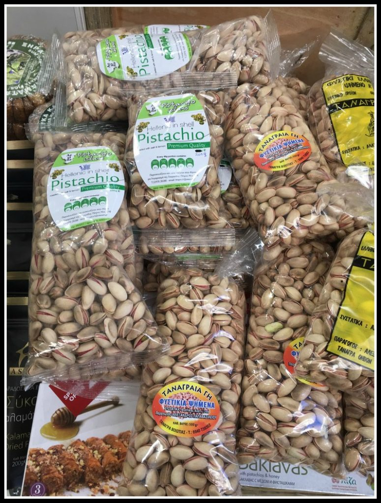 Pistachio nuts make a great Greek souvenir to take home - LifeBeyondBorders