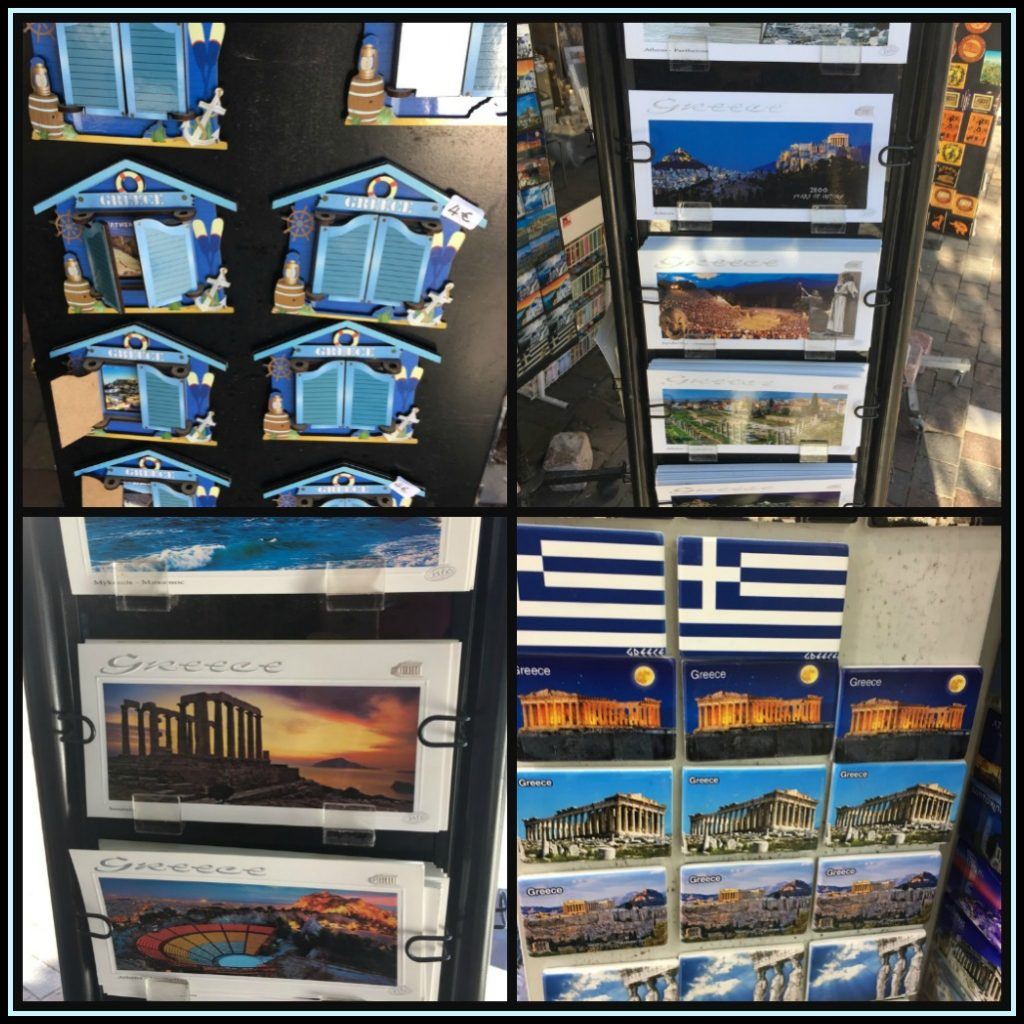 Postcards and fridge magnets always make great Greek souvenirs - LifeBeyondBorders