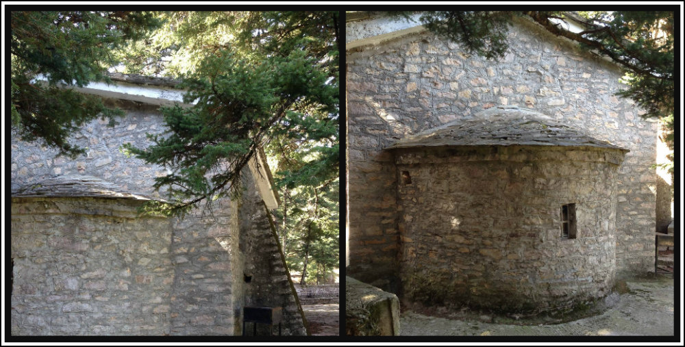 St John's Chapel - Mount Parnassos - Greece