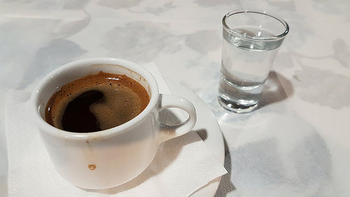 greek coffee photo