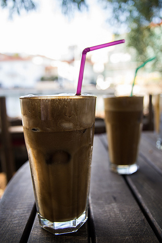 greek frappe photo