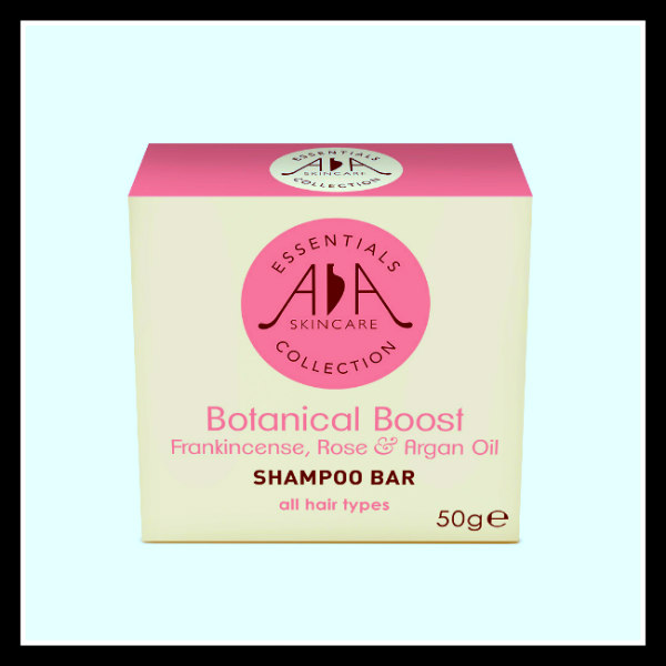 Travel sized toiletries: Amphora Aromatics Botanical Boost Bar - great for body wash too