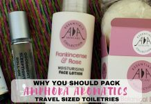 Amphora Aromatics Travel Sized Products - LifeBeyondBorders