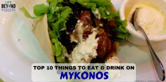 Top Things to Eat & Drink on Mykonos and where to eat them - LifeBeyondBorders