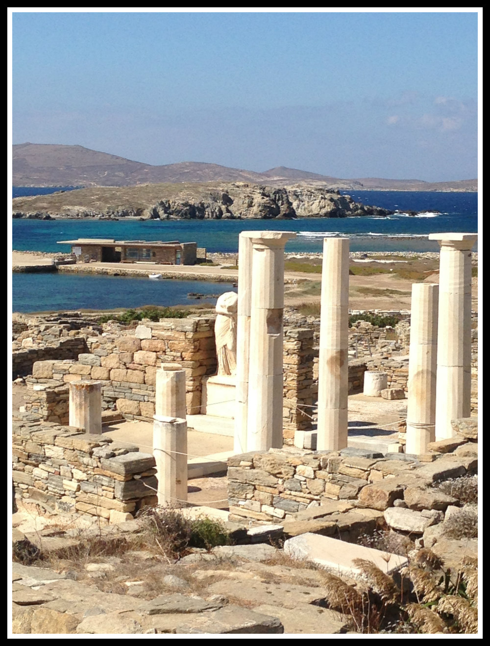 Delos - near Mykonos island, Greece. An historical site like no other. Life Beyond Borders